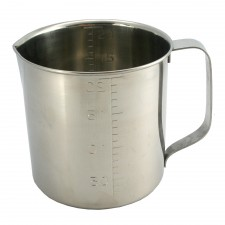 SUGICO Professional Measuring Cup 18-8 Stainless Steel 5.0L - 100% Original Japan