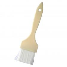 Flat Nylon Pastry Brush with Plastic Handle - 4.5cm