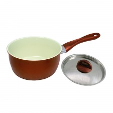 Sauce Pan Ceramic Coated Non-Stick - 20cm