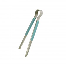 ECHO! Pastel Cooking Tongs Stainless Steel 25cm - Blue