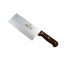 HOMCHEF Chinese Cleaver Knife with Wood Handle - 6 inch
