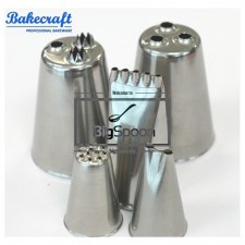 BAKECRAFT Multi-Opening Pastry Tubes Decorating Nozzle