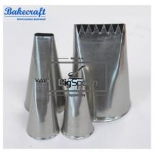 BAKECRAFT Basketweave Pastry Tubes Decorating Nozzle