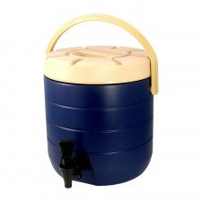 HOMSUIT Insulated Beverage Dispenser Bucket Stainless Steel 13L - Blue