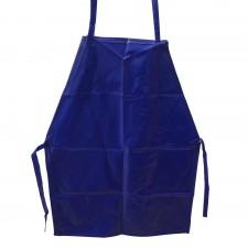 Apron PVC Blue - 29 inch [9018]