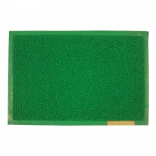 Door Mat Green With Border 40cm x 60cm [E4060G]