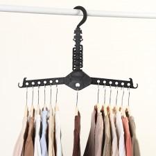 13-Slot Multipurpose Foldable Magic Clothes Hanger Shirts Storage Organizer Space Saver